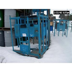CAGE DE METAL 1000L HEAVY